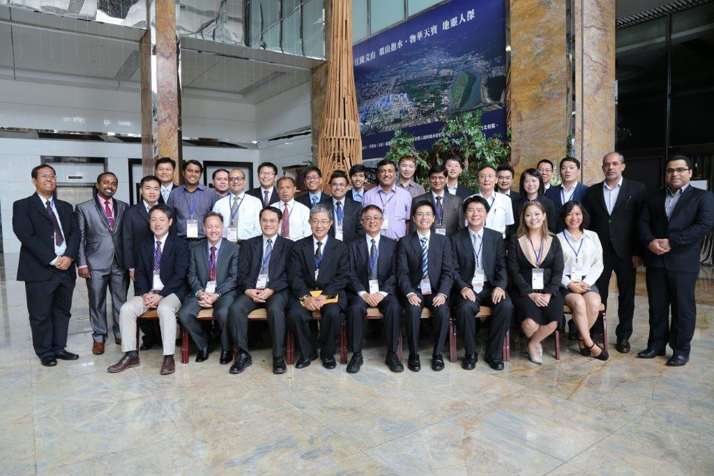 Participants, observers, and experts of the multicountry observational study mission on Promoting Green Productivity with Focus on Smart Grids and Green Energy, Taipei.