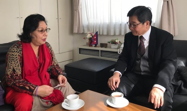 SG meeting with Nepalese ambassador