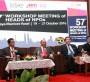 (From Left to Right) Malaysia Productivity Corporation (MPC) Director General Dato' Mohd Razali Hussain; APO Director for Malaysia Tan Sri Azman Hashim; Malaysia's Second Minister of International Trade and Industry Dato' Seri Ong Ka Chuan; and  APO Secretary-General Santhi Kanoktanaporn at the opening session of the #APO #WSM2016 at Putrajaya, 19 October 2016.