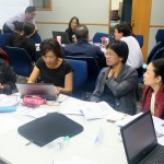 Participants conducting a readiness assessment to determine when the Thai economy can embrace Industry 4.0.
