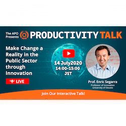 Productivity Talk on 14 July 2020