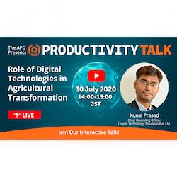 Productivity Talk on 30 July 2020