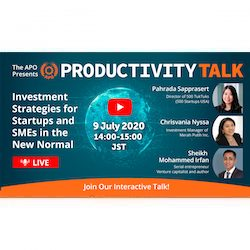 Productivity Talk on 9 July 2020