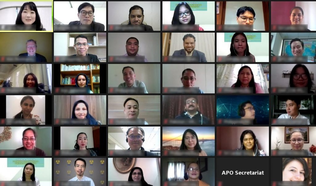 APO's virtual Training of Trainers on Government Digital Services for Public-sector Productivity