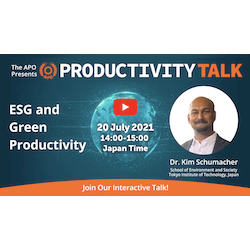 ESG and Green Productivity